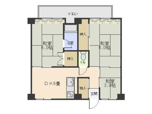 ビレッジハウス(間取)